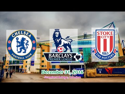 Chelsea vs Stoke City 4-2 All Goals & Highlights 31/12/2016 | Premier League 2016/2017