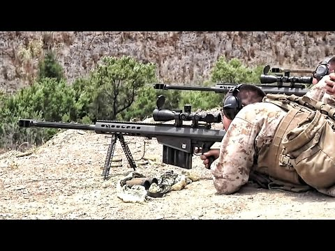 M107 .50 Cal Sniper Rifle Reaches Out