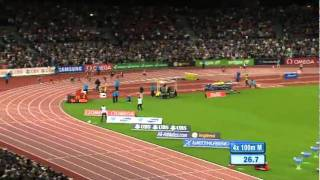 Jamaica Wins 4x100m Men At Zurich Diamond League