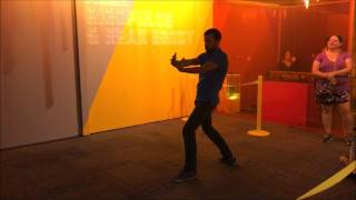 Dance Central Moves Like JaggerBrief Summary:  Playing Dance Central at the Science museum.  I was having a pretty good time.  Haven't played in a while but I managed to score 5 stars!  Thank you so much for watching!  Please like comment and subscribe!