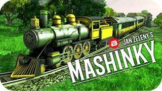 MASHINKY Gameplay - LUMBER LINES EXPANSION! - Tycoon Trains Simulator/Railroad Tycoon #11