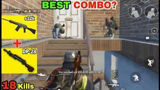 S12k + DP-28 COMBO IS INSANE(18 Kills) • PUBG MOBILE GAMEPLAY