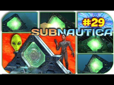 Subnautica - КУДА ВЕДУТ ВСЕ ТЕЛЕПОРТЫ ГЛАВНОЙ БАЗЫ ЛАВОВОГО БИОМА #29 (видео)