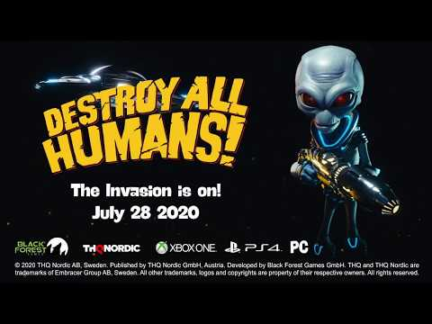 Destroy All Humans! : Destroy All Humans! - Release Date Trailer