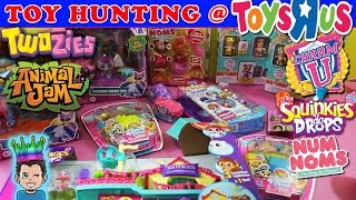 Lets take a trip to Toys R Us and see what we can find! I think we do pretty good getting some Twozies, CharmU, Squinkies Do Drops and Series 2 Num Noms! ☆ w...