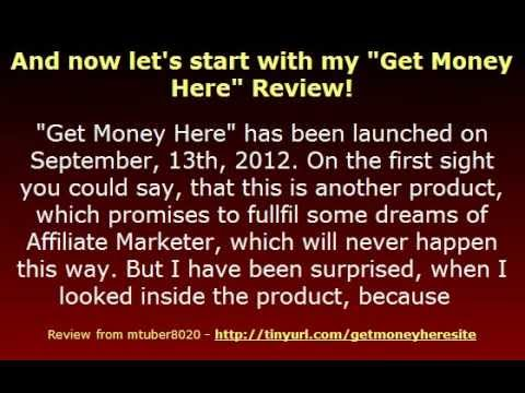 Video: Get Money Here Review – a unique Idea to use people`s searches for Work from Home for earning Money with your Offers