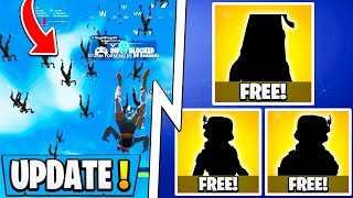 *NEW* Fortnite Update! | 3 Free Skins, Big Update Tomorrow, Event Leaks!