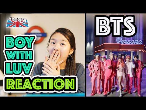 BTS 'BOY with LUV' 뮤비 리액션 from 영국중학생!!!!! OMG!!!!