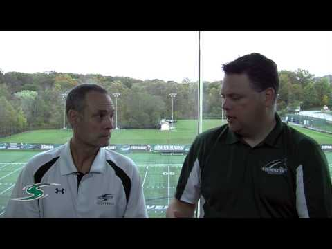 Women's Volleyball Coach Dave Trumbo - 10-23-14
