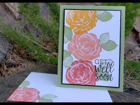 Quick and Easy card using Stampin' Up!'s Healing Hugs!