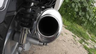 7. sym vs 150 exhaust