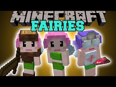 or - The Fairy Mod adds in Fairies that can fight and complete almost any task! Enjoy the video? Help me out and share it with your friends! Like my Facebook! http://www.facebook.com/pages/PopularMMOs/...