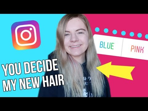 My instagram followers pick my new hair color!