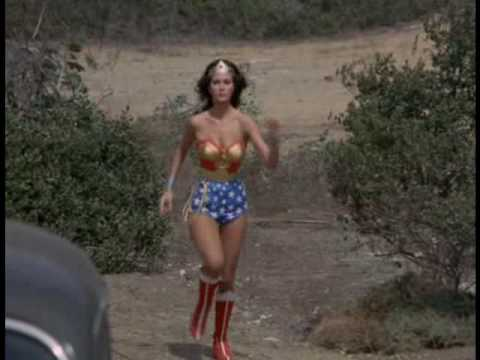 Lynda Carter Made Him Do It.