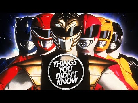 7 Things You Didn t Know About the Power Rangers