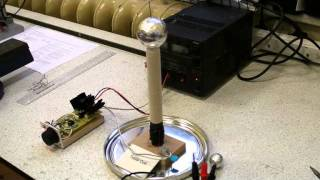 12v Solid State Mini Tesla Coil with Circuit Diagram