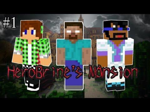 【Minecraft】Herobrineマンション part1