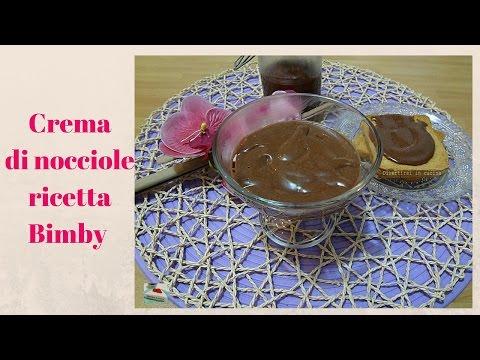 video ricetta: bimby - crema spalmabile alle nocciole