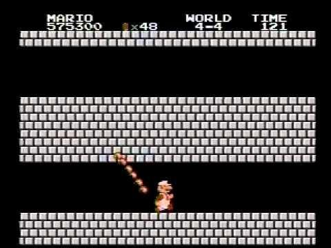 Super Mario Bros. (NES) High Score - 1,435,100 (видео)