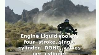9. Kawasaki KLR 650 -  Info Engine Dealers Top Speed motorbike Details Specification Specs