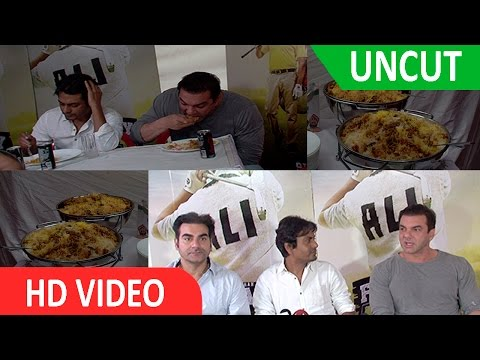 UNCUT - FREAKY ALI TEAM CELEBRATE EID WITH BIRYANI LUNCH AT SOHAIL KHAN PRODUCTIONS