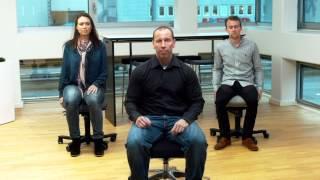 Branchearbejdsmiljørådet BAR kontor sætter fokus på ergonomi på kontorer, med variation i arbejdet, god indretning og øvelser.
