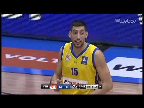 ΠΕΡΙΣΤΕΡΙ – ΠΑΟΚ | Basket League | 17/11/2019 | ΕΡΤ