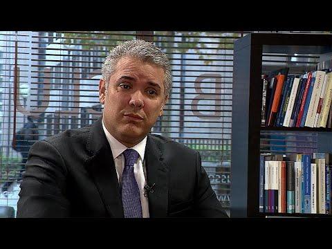 Ο πρόεδρος της Κολομβίας εφ'όλης της ύλης στο euronews