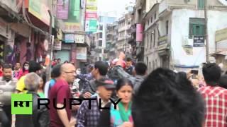 Nepal: Panic As 6.7 Magnitude Aftershock Rocks Kathmandu