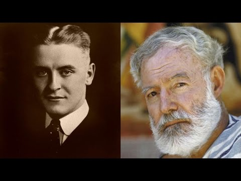 ernest hemingway and f scott fitzgerald Racial strife in the sixties, the riots during the civil war f scott fitzgerald said it was civilized and gay, rotted and polite the terms are slightly anachronistic now, but i think he was essentially right.