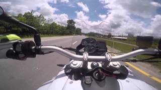 2. BMW F800GS Standard Test Top Speed