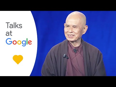 Google Talk - A first-ever visit by the Zen master Thich Nhat Hanh to a corporate headquarters in Silicon Valley, the unique event included a practices-based workshop, in ...