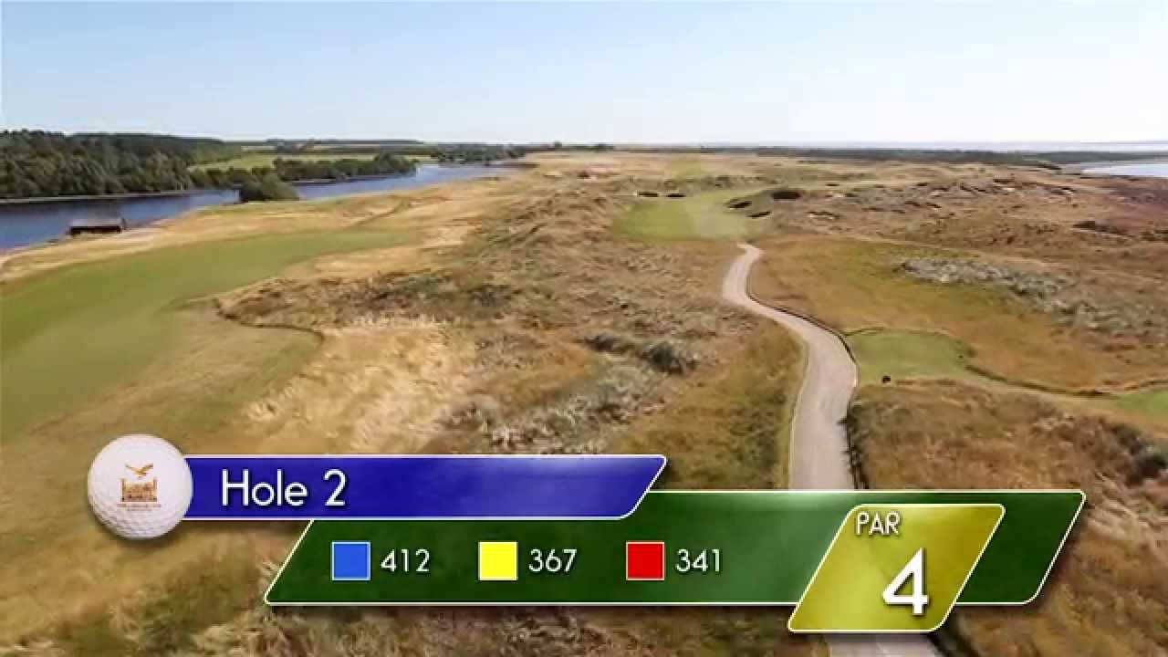 Carnegie Links Hole 2 - YouTube video