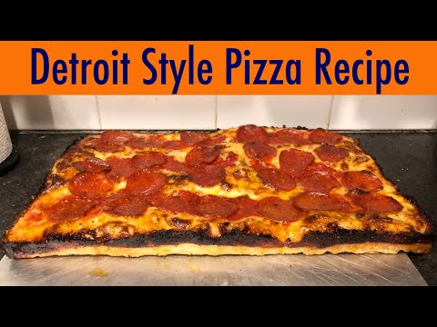 How to Make Fantastic Detroit-style Pizza at Home