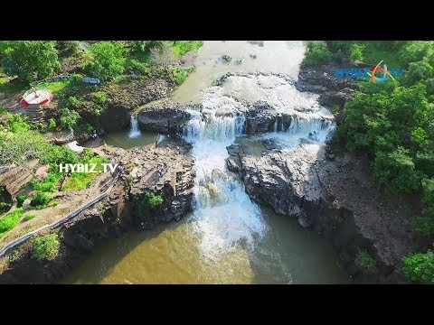 Pochera WaterFalls Aerial View