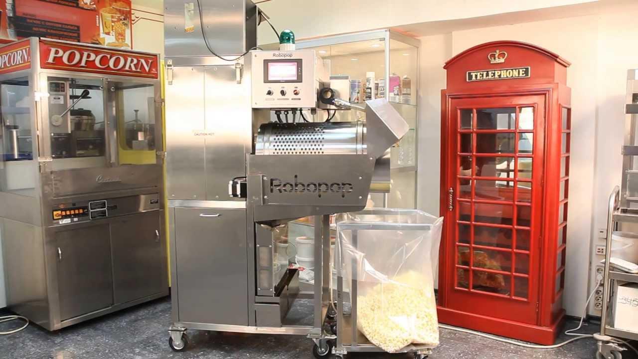 Vortex Popcorn™ machines Robopop® Mark 3 and MiniRobo General presentation