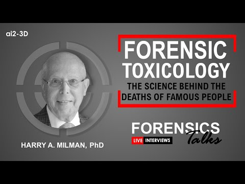 Forensic Toxicology | Forensics Talks Episode 18 | Thursday January 21, 2021 @ 2pm Eastern