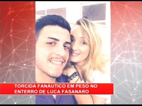 [RONDA GERAL] Integrantes da Fanáutico comparece ao enterro de Luca Fasanaro