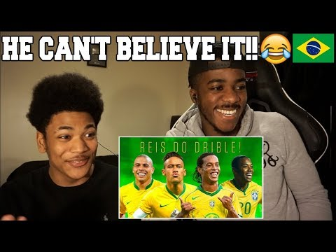 MY NEPHEW WATCHES BRAZILIAN MAGIC FOR THE FIRST TIME!! - Who is the King of Dribbling? | Reaction