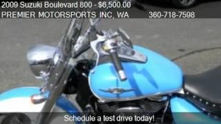 5. 2009 Suzuki Boulevard 800 C50T for sale in VANCOUVER, WA 986
