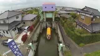 空撮 / 茨城県 潮来の水郷