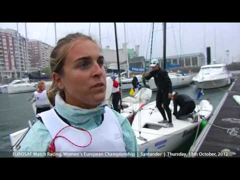 RCM Santander -EUROSAF Match Racing, Womens European Championship, Santander, Thursday
