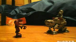 Halo vs star wars #picpac #stopmotion #lego