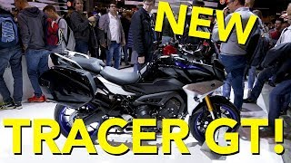 8. 2018 Yamaha Tracer 900 GT First Look