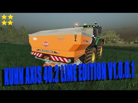 Kuhn Axis 40.2 Lime Edition v1.0.0.2