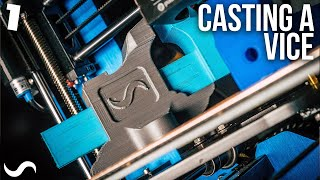 3D PRINTING A BENCH VICE!!!  PART 1