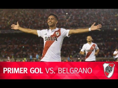 Gol del Pity Martínez vs. Belgrano de Córdoba