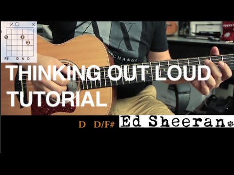 "Como Tocar ""Thinking Out Loud"" De Ed Sheeran - Tutorial Guitarra (HD)"