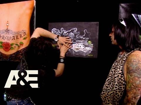 Criss Angel Mindfreak: Painting Trick | A&E
