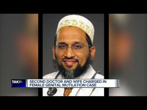 Second doctor charged in female genital mutilation case (видео)